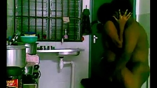 hungry indian girl  kitchen sex