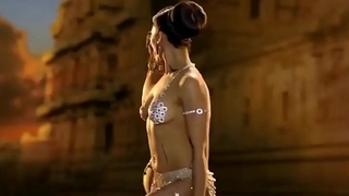Traditional indian nude dance