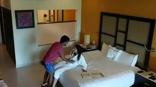 Indian escort prostitute fucking hotel room