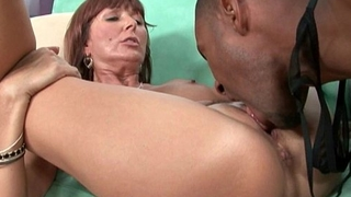 Milfs Desi Foxx and Dorothy unload a hard cock on their face