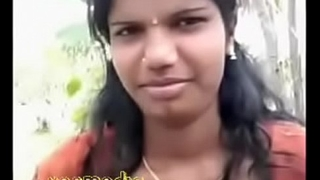Tamil beauty boob press clear audio