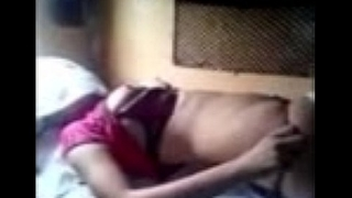 Desi Wife Enjoying In Moving Train