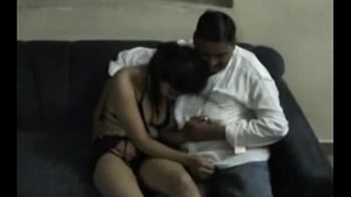 Indian Chennai uncle enjoying neighbor college girl in hotel room - Wowmoyback