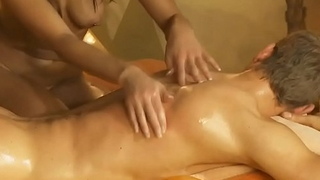 Massage For Him Turns Sexy