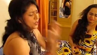 Two Indian Bhabhi Hot Lesbian Sex