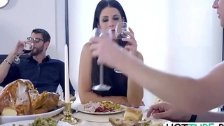 India Summer - Enactment Mom Added to Son Fuck