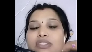 Cool aunty video calling