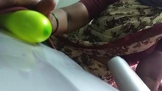 desi indian tamil aunty telugu aunty kannada aunty  malayalam aunty Kerala aunty hindi bhabhi horny school teacher cheating wife vanitha wearing saree showing big boobs and shaved pussy lips press hard boobs press nip rubbing pussy fucking sex doll