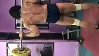 Indian hunk ishan sharma exposing butt crack