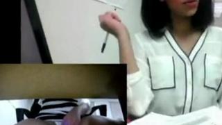 Indian Desi Teen Almost Caught Masturbation At Work In Public Office