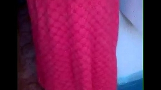 My mallu mother'_s Boobs show videoed by my Plumber friend