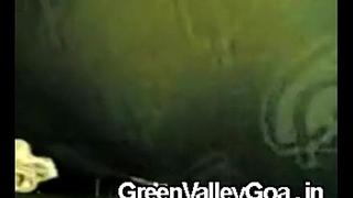 Indian couple romance in car - GreenValleyGoa.in
