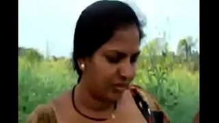 VID-20140608-PV0001-Vijayawada (IAP) Telugu 43 yrs old married beautiful, hot and sexy housewife aunty Mythili showing her boobs and pussy at forest sex porn video